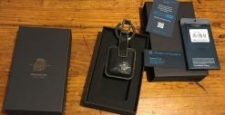Piquadro Arte Leather Keyholder