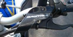 Protezione Pompa frizione carbonio