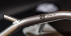 Tubo radiatore in Titanio Grado 2